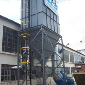 Baghouse by ACS dust extraction systems - Johannesburg, Gauteng, South Africa