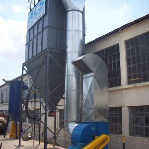 Baghouse dust control system with centrifugal fan by ACS - Air Cleaning Systems - Johannesburg, Gauteng, South Africa