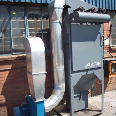 Cartridge dust collector by ACS Air Cleaning Systems, Johannesburg, Gauteng, South Africa