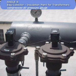 Compressed air pressure gauge of a baghouse by ACS - Air Cleaning Systems - Johannesburg, Gauteng, South Africa