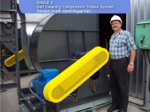 self cleaning intake system, forced draft centrifugal fan build by ACS Air Cleaning Systems, Johannesburg, Gauteng, South Africa