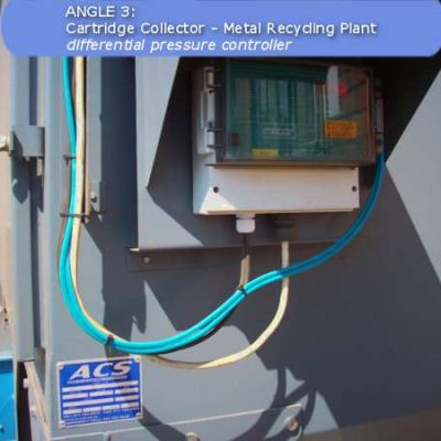 Differential pressure controller of a Cartridge Filter by ACS Air Cleaning Systems, Johannesburg, Gauteng, South Africa