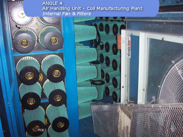Air handling unit of fan filter unit by ACS Air Cleaning Systems, Johannesburg, Gauteng, South Africa