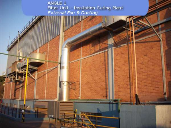 Fan filter unit by ACS Air Cleaning Systems, Johannesburg, Gauteng, South Africa