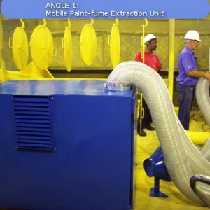 A Paint fume Mobile Dust Extraction Unit by Air Cleaning Systems, Johannesburg, Gauteng, South Africa