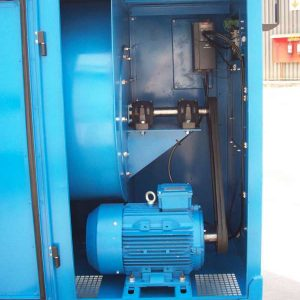 Belt-drive and VSD of a Mobile Dust Extraction Unit by Air Cleaning Systems, Johannesburg, Gauteng, South Africa