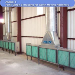 Spray booth by ACS Air Cleaning Systems, Johannesburg, Gauteng, South Africa