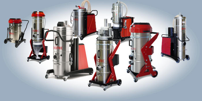 Evotec Industrial Vacuum Cleaner - Official Distributor in South Africa, ACS. Air Cleaning System, Roodepoort, Johannesburg.